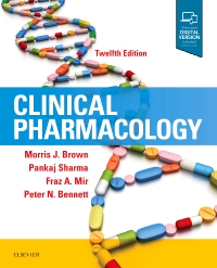 cover image - Clinical Pharmacology,12th Edition
