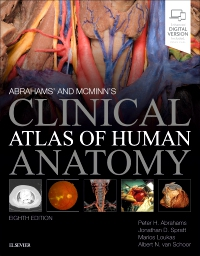 cover image - Abrahams' and McMinn's Clinical Atlas of Human Anatomy,8th Edition