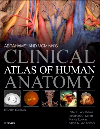 cover image - Evolve Resources for Abrahams' and McMinn's Clinical Atlas of Human Anatomy,8th Edition