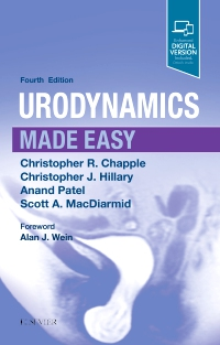 cover image - Urodynamics Made Easy,4th Edition