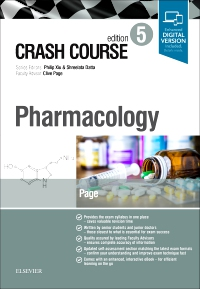 cover image - Crash Course Pharmacology,5th Edition