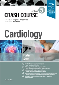 cover image - Crash Course Cardiology,5th Edition