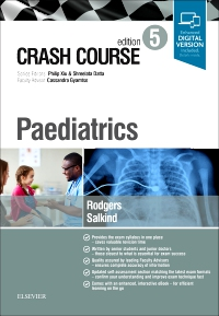 cover image - Crash Course Paediatrics,5th Edition