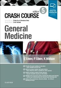 cover image - Crash Course General Medicine,5th Edition