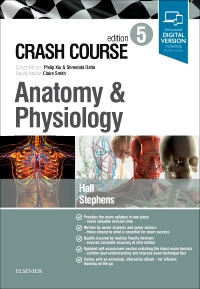 cover image - Crash Course Anatomy and Physiology,5th Edition