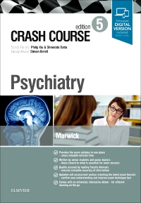 cover image - Crash Course Psychiatry,5th Edition
