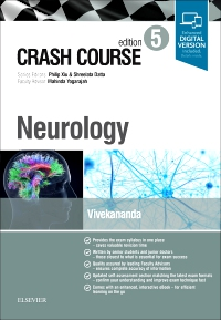 cover image - Crash Course Neurology,5th Edition