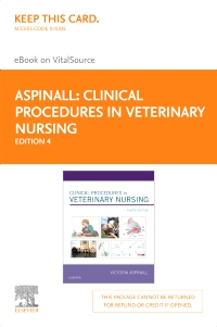 cover image - Clinical Procedures in Veterinary Nursing - Elsevier eBook on VitalSource (Retail Access Card),4th Edition