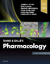 cover image - Rang & Dale's Pharmacology,9th Edition