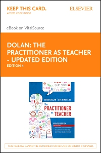 cover image - The Practitioner as Teacher - Updated Edition Elsevier eBook on VitalSource (Retail Access Card),4th Edition