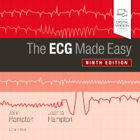 cover image - The ECG Made Easy,9th Edition