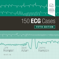 cover image - 150 ECG Cases,5th Edition