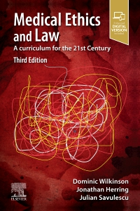 cover image - Medical Ethics and Law,3rd Edition