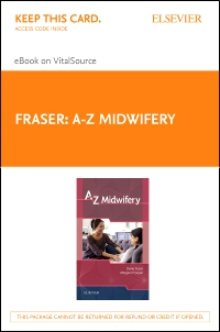 cover image - A-Z Midwifery Elsevier eBook on VitalSource Retail Access Card