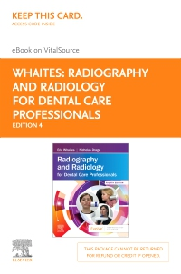 cover image - Radiography and Radiology for Dental Care Professionals - Elsevier eBook on VitalSource (Retail Access Card),4th Edition