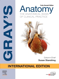 cover image - Gray's Anatomy International Edition,42nd Edition