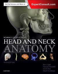 cover image - McMinn's Color Atlas of Head and Neck Anatomy - Elsevier eBook on VitalSource,5th Edition