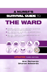 cover image - A Nurse's Survival Guide to the Ward - Updated Edition,3rd Edition