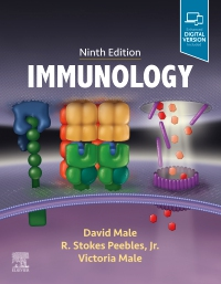 cover image - Immunology Elsevier Elsevier eBook on Vitalsource,9th Edition