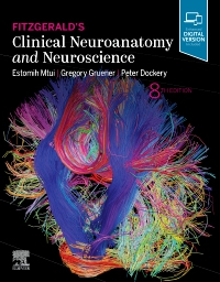 cover image - Fitzgerald's Clinical Neuroanatomy and Neuroscience Elsevier eBook on VitalSource,8th Edition