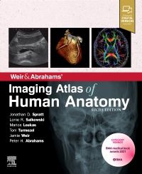 cover image - Weir & Abrahams' Imaging Atlas of Human Anatomy,6th Edition
