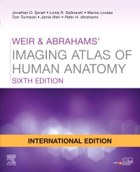 cover image - Weir & Abrahams' Imaging Atlas of Human Anatomy, International Edition,6th Edition