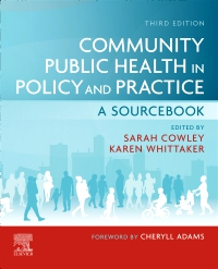 cover image - Community Public Health in Policy and Practice Elsevier eBook on VitalSource,3rd Edition