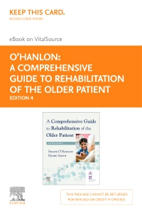 cover image - A Comprehensive Guide to Rehabilitation of the Older Patient Elsevier eBook on VitalSource (Retail Access Card),4th Edition