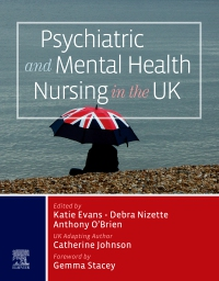 cover image - Psychiatric and Mental Health Nursing in the UK, Elsevier eBook on VitalSource