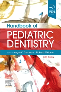 cover image - Evolve resources for Handbook of Pediatric Dentistry,5th Edition