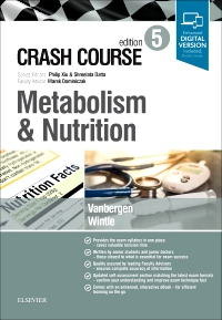 cover image - Crash Course Metabolism and Nutrition Elsevier eBook on VitalSource,5th Edition