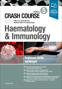 cover image - Crash Course Haematology and Immunology Updated Edition: Elsevier eBook on VitalSource,5th Edition