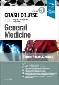 cover image - Crash Course General Medicine Updated Edition Elsevier eBook on VitalSource,5th Edition