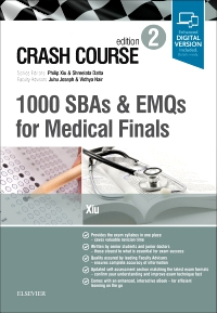 cover image - Crash Course 1000 SBAs and EMQs for Medical Finals - Elsevier E-Book on VitalSource,2nd Edition