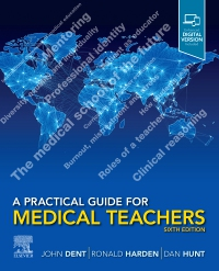 cover image - A Practical Guide for Medical Teachers,6th Edition