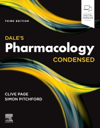 cover image - Dale's Pharmacology Condensed,Elsevier E-Book on VitalSource,3rd Edition