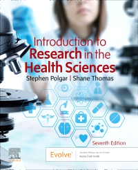cover image - Evolve Resources for Introduction to Research in the Health Sciences,7th Edition