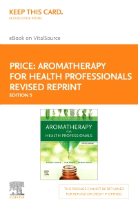 cover image - Aromatherapy for Health Professionals Revised Reprint Elsevier eBook on VitalSource (Retail Access Card),5th Edition