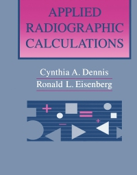 cover image - Applied Radiographic Calculations