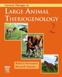 cover image - Current Therapy in Large Animal Theriogenology,2nd Edition