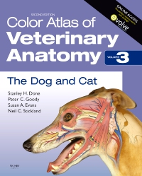 cover image - Color Atlas of Veterinary Anatomy, Volume 3, The Dog and Cat,2nd Edition
