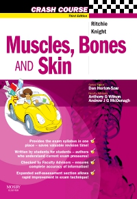 cover image - Crash Course: Muscles, Bones and Skin,3rd Edition