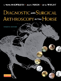 cover image - Diagnostic and Surgical Arthroscopy in the Horse,4th Edition