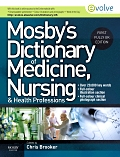 cover image - Mosby's Dictionary of Med, Nursing & HP UK Edition - Evolve Resources