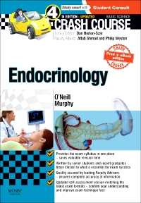 cover image - Crash Course Endocrinology: Updated Print + E-book Edition,4th Edition
