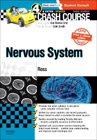 cover image - Crash Course Nervous System Updated Print + eBook edition,4th Edition