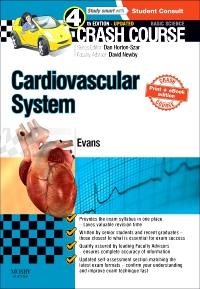 cover image - Crash Course Cardiovascular System Updated Print + E-Book Edition,4th Edition