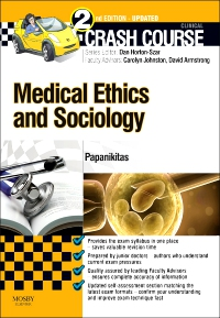 cover image - Crash Course Medical Ethics and Sociology Updated Edition: Elsevier eBook on VitalSource,2nd Edition