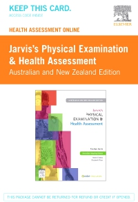 cover image - Jarvis's Health Assessment Online Australian and New Zealand Edition