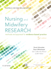 cover image - Nursing and Midwifery Research,5th Edition